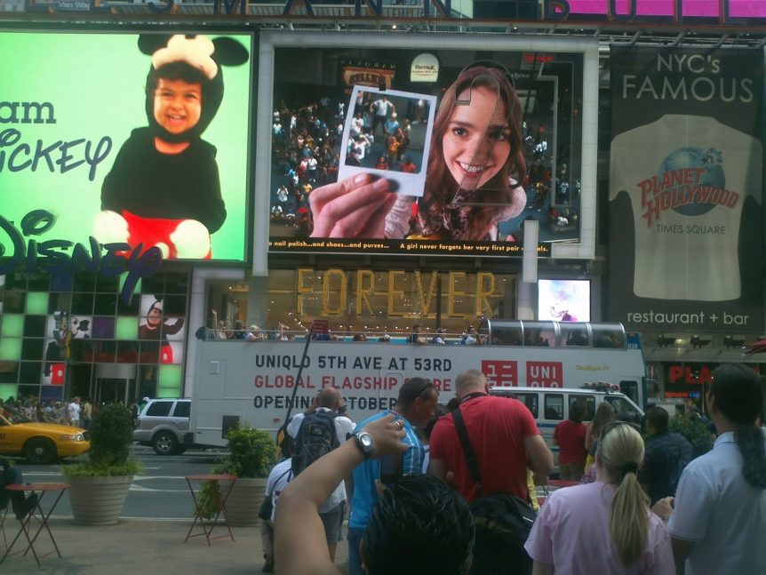Tery Spataro Case Study In-Store Experience forever21 times square