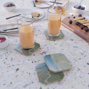 Atlantic Ocean Tony Collection Coasters by Tery-Spataro