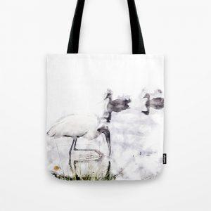 @@Tery Water Birds Tote Bag